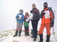 14 - 16 februarie 2014: Piatra Craiului - Vf. Piscu Baciului 2237m